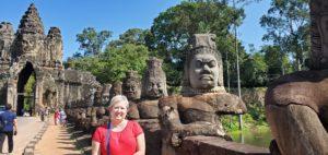 Kathylynne in Cambodia
